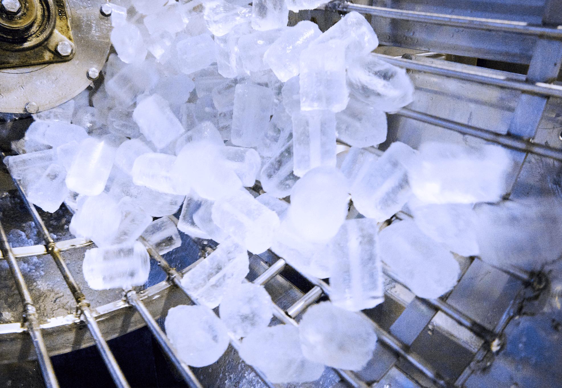 Produzione di ghiaccio